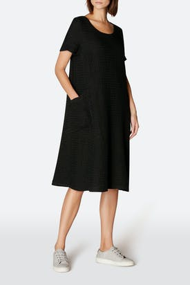 Photo of Waffle Linen Pocket Dress