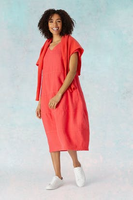 Photo of Linen Panelled Dress