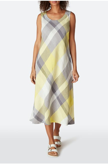 Photo of Madras Check Sleeveless Dress
