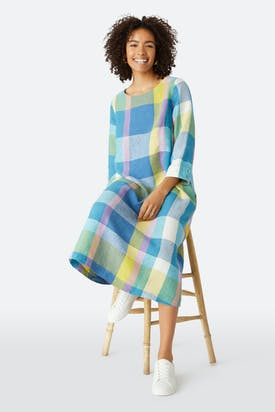 Photo of Madras Check Dress