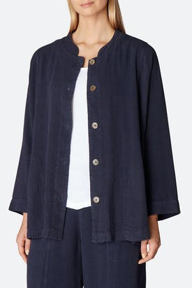 Photo of Textured Linen Jacket