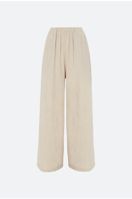 Photo of Natural Linen Culotte