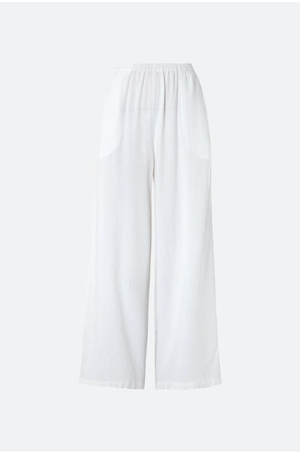 Photo of Textured Linen Culotte