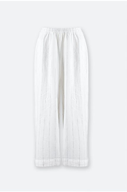 Photo of Patched Twisted Yarn Culottes
