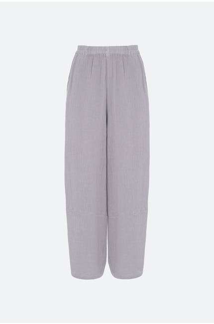 Photo of Light Crinkle Linen Trouser
