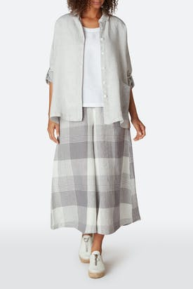 Photo of Giant Check Divided Skirt