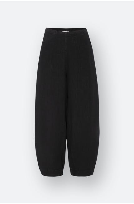 Textured Linen Bubble Trouser