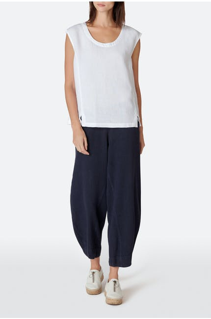 Photo of Textured Linen Bubble Trouser