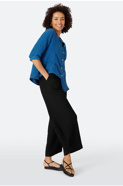 Photo of Twisted Linen Bubble Pant