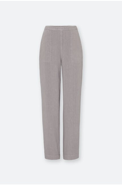 Photo of Textured Linen Slim Trouser