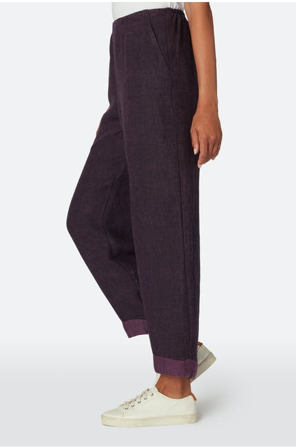 Warm Linen Bubble Trouser