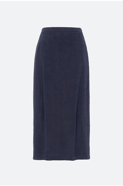 Textured Linen Bubble Skirt