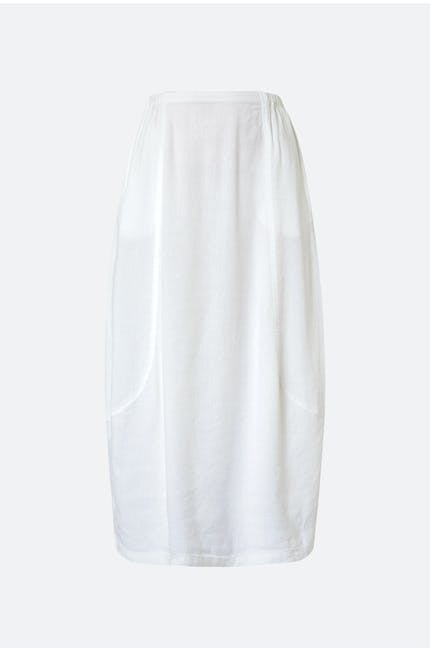 Photo of Textured Linen Bubble Skirt