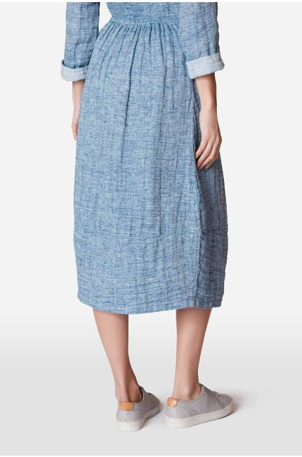 Double Faced Linen Skirt