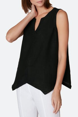 Photo of Organza Linen Asymmetric Vest