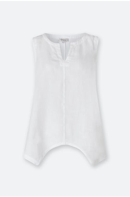 Photo of Organza Linen Point Hem Vest