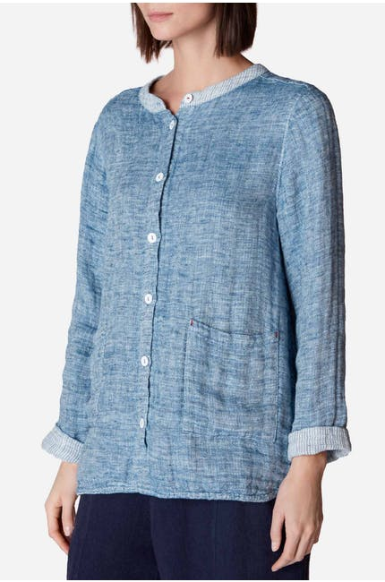 Double Faced Linen Shirt