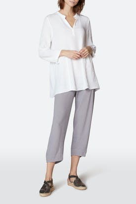 Photo of Light Crinkle Linen Tunic