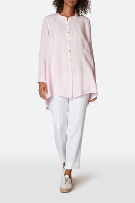 Photo of Organza Linen Flared Shirt