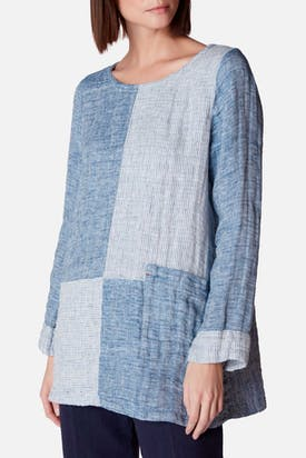 Photo of Double Faced Linen Tunic