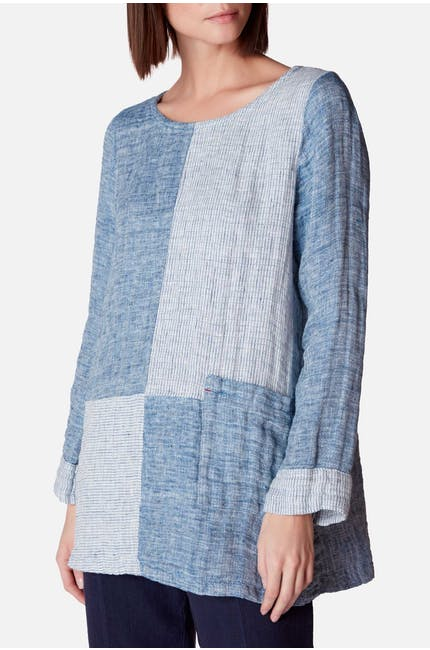 Double Faced Linen Tunic