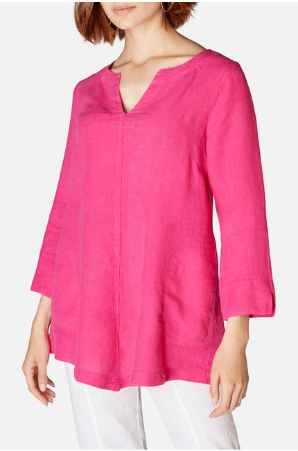 Organza Linen Point Tunic