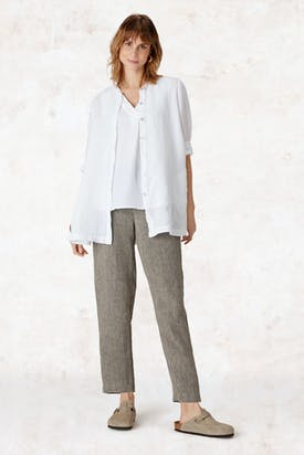 Photo of Organza Linen Swing Shirt