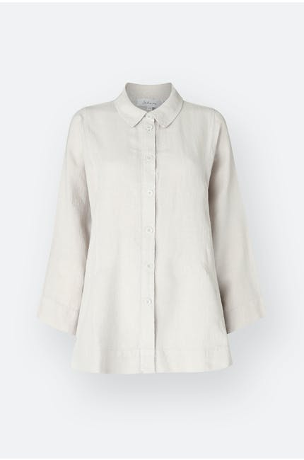 Photo of Linen Dobby Boxy Shirt