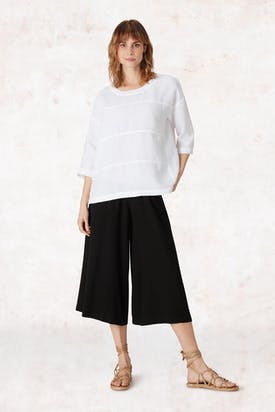 Photo of Linen Panelled Top