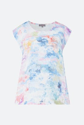 Photo of Dapple Print Linen Top