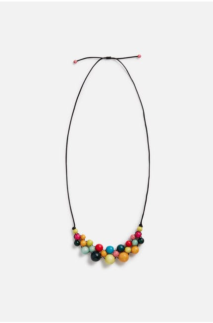 Photo of Crochet Ball Necklace