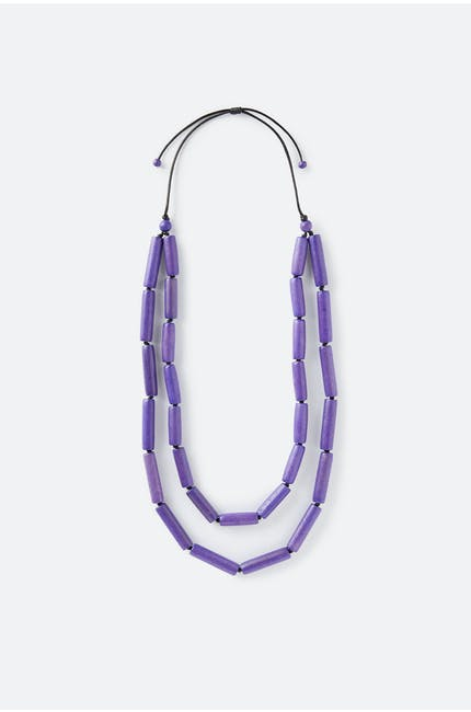 Two Strand Tube Necklace