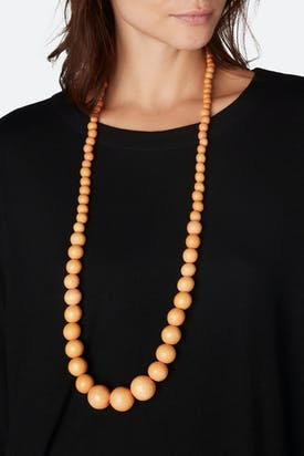 Photo of Long Bead Necklace