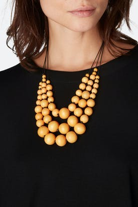 Photo of Triple Strand Sphere Necklace
