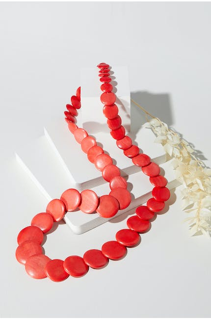 Photo of Long Disc Necklace