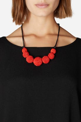 Photo of Woven Ball Necklace