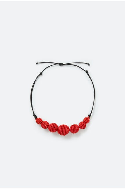 Woven Ball Necklace