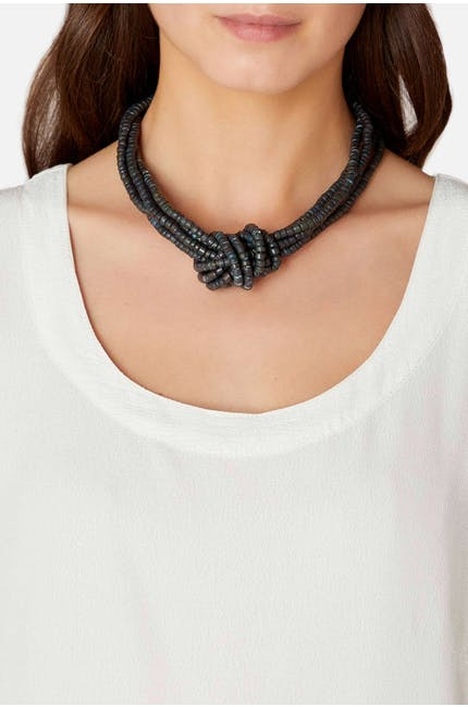 Knotted Coco Necklace