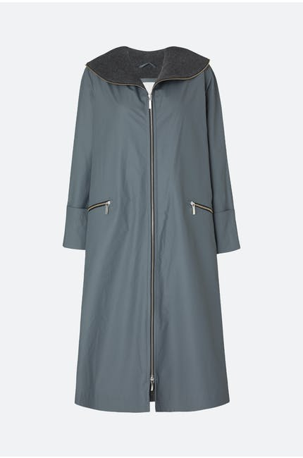Photo of Long Zip Raincoat