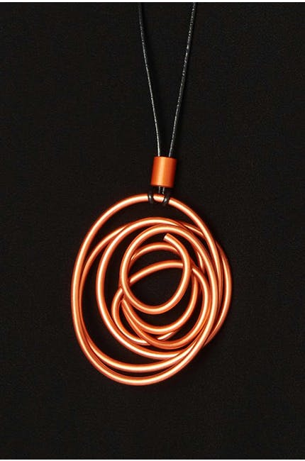 Photo of Twisted Aluminium Necklace