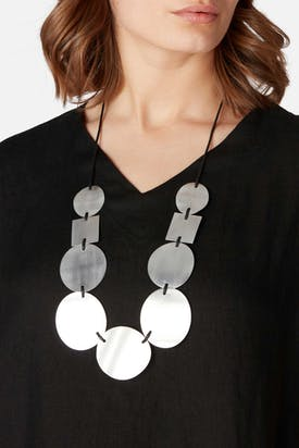 Photo of Circle And Square Necklace
