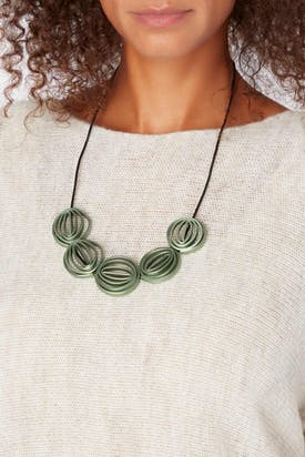Photo of Five Swirl Necklace