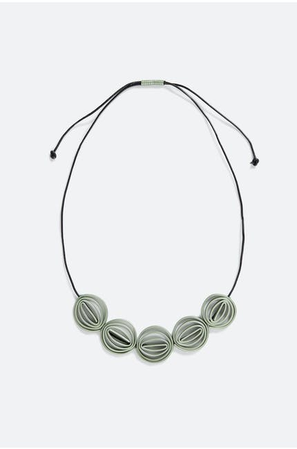 Five Swirl Necklace