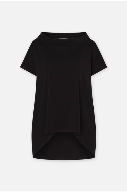 Boat Neck Jersey Top