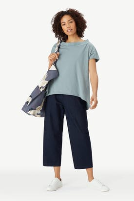 Photo of Boat Neck Jersey Top