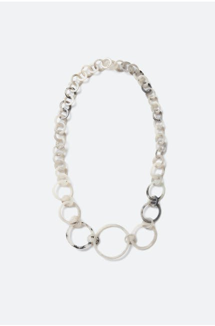 Multifarious Hoop Necklace
