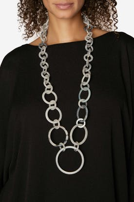 Photo of Multifarious Hoop Necklace