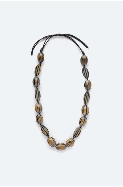 Tiger Stripe Necklace