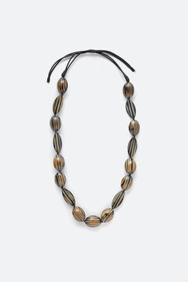 Photo of Tiger Stripe Necklace