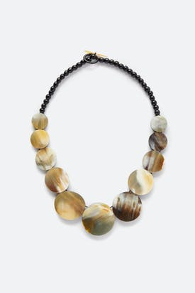 Photo of Horn Sphere Necklace
